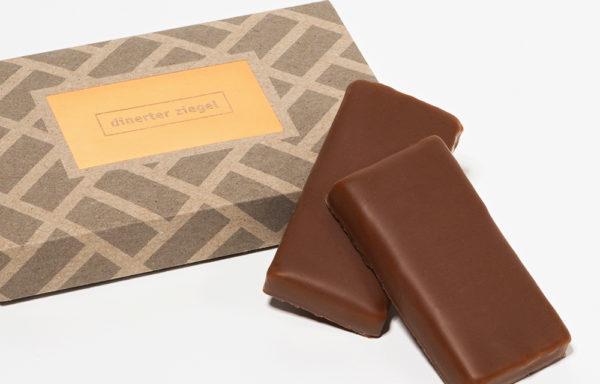 Dinerter Ziegel 3er Schachtel (Schokolade)