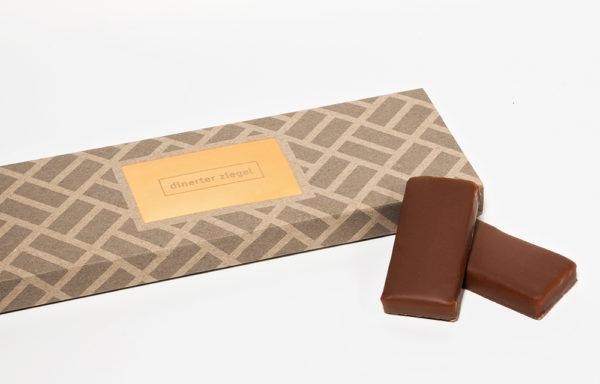Dinerter Ziegel 6er Schachtel (Schokolade)